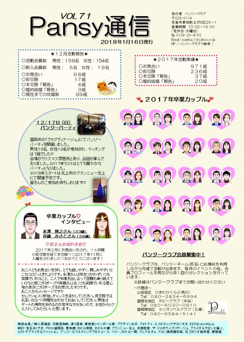 パンジー通信71